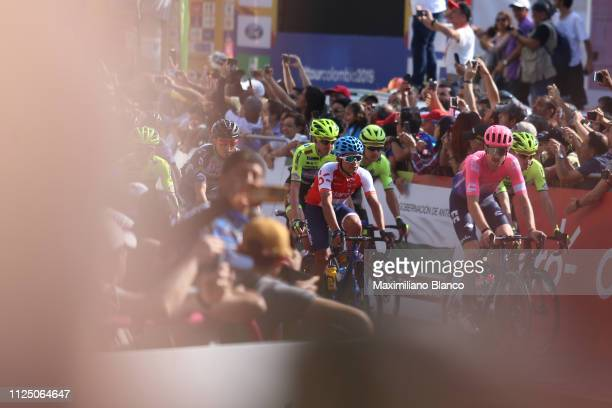 Taylor Phinney of The United States and EF Education First Pro Cycling Team / Detail view / during the 2nd Tour of Colombia 2019 Stage 4 a 1444km...
