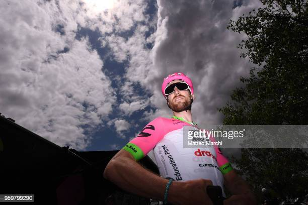 Taylor Phinney of USA and Team EF Education FirstDrapac before stage four of the 13th Amgen Tour of California 2018 San Jose / Morgan Hill a 347 km...