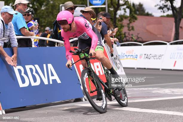 Taylor Phinney of USA and Team EF Education FirstDrapac rides during stage four of the 13th Amgen Tour of California 2018 San Jose / Morgan Hill a...
