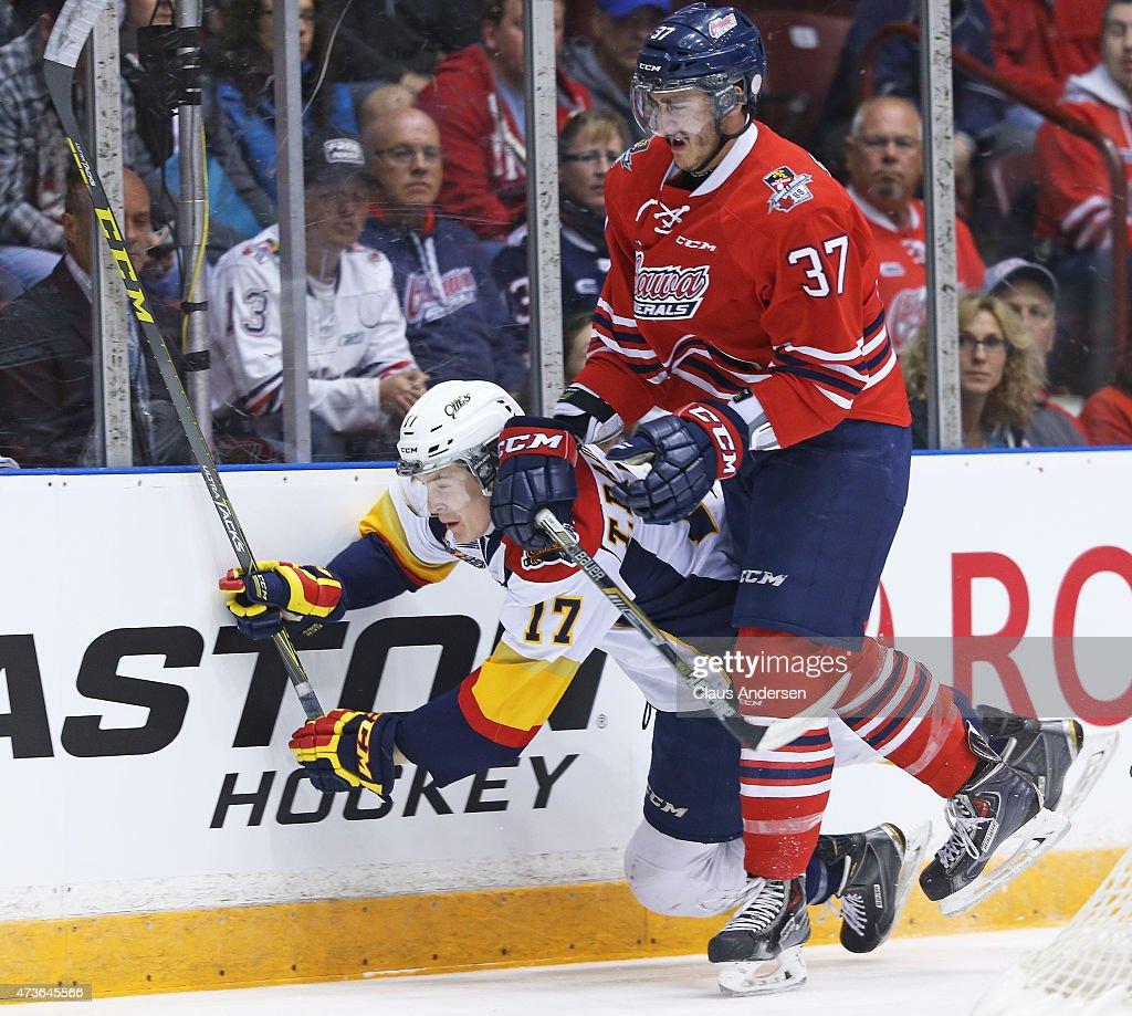 Erie Otters v Oshawa Generals - Game Five : News Photo