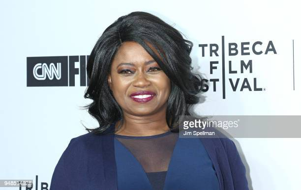 """Taylor Re Lynn attends the 2018 Tribeca Film Festival opening night premiere of """"Love, Gilda"""" at Beacon Theatre on April 18, 2018 in New York City."""