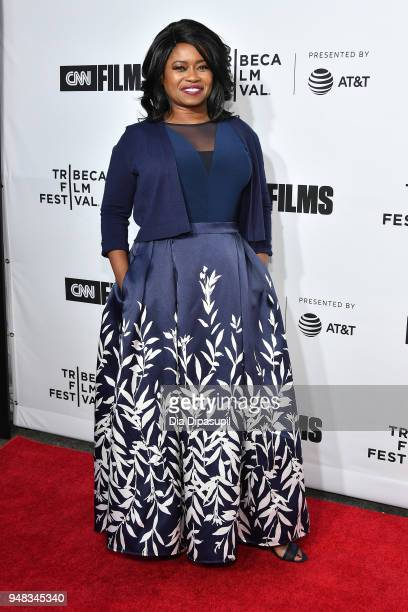 """Taylor Re Lynn attends the opening night gala of """"Love, Gilda"""" during the 2018 Tribeca Film Festival at Beacon Theatre on April 18, 2018 in New York..."""