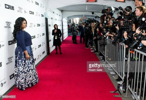 Taylor Re Lynn attends world premiere of Love Gilda documentary at the Tribeca Film Festival at the Beacon Theatre on April 18, 2018 in New York City.