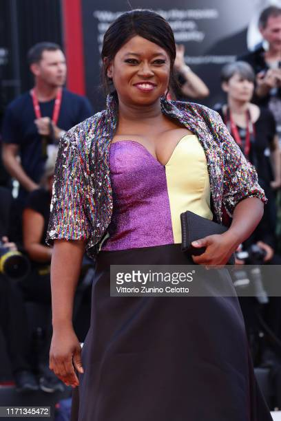 """Taylor Re Lynn walks the red carpet ahead of the """"Joker"""" screening during the 76th Venice Film Festival at Sala Grande on August 31, 2019 in Venice,..."""