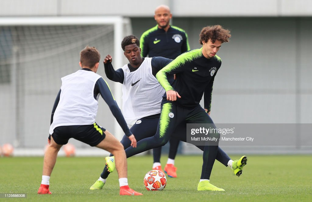 GBR: Manchester City Training Session