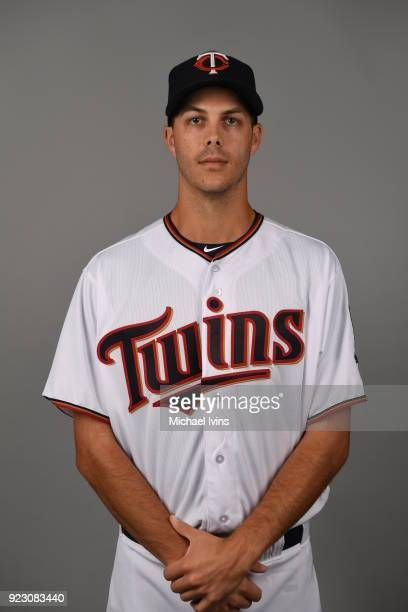 Taylor Rogers of the Minnesota Twins poses during Photo Day on Wednesday February 21 2018 at CenturyLink Sports Complex in Fort Myers Florida