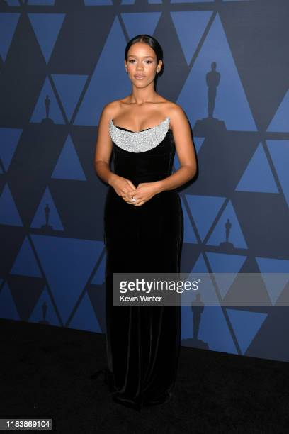 Taylor Russell attends the Academy Of Motion Picture Arts And Sciences' 11th Annual Governors Awards at The Ray Dolby Ballroom at Hollywood Highland...