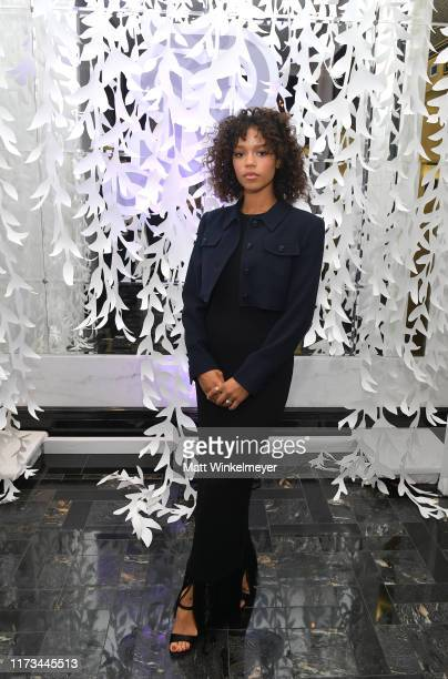Taylor Russell attends The Hollywood Reporter TIFF Studio presented by St Regis MAC and Martell at The St Regis Toronto on September 09 2019 in...