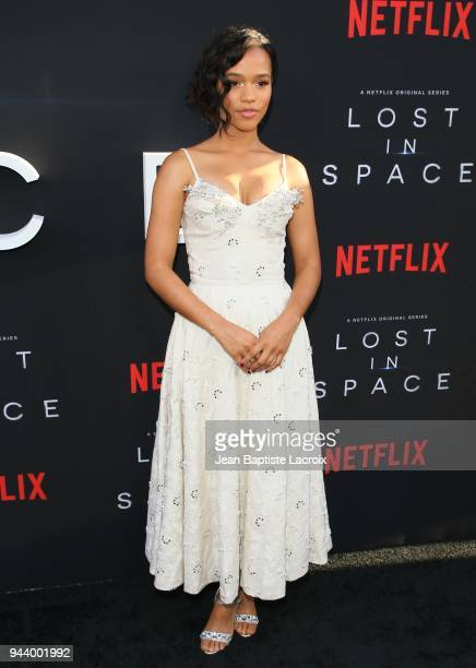 Taylor Russell attends the premiere of Netflix's 'Lost In Space' Season 1 on April 9 2018 in Los Angeles California