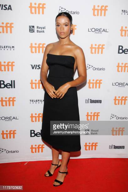 Taylor Russell attends the Waves Premiere held at Ryerson Theatre on September 10 2019 in Toronto Canada