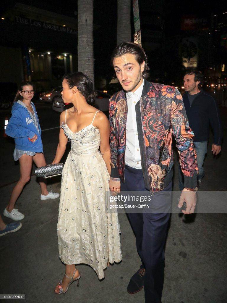 Celebrity Sightings In Los Angeles - April 09, 2018