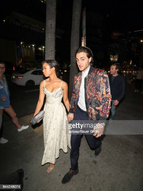 Taylor Russell is seen on April 09 2018 in Los Angeles California