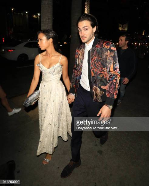 Taylor Russell is seen on April 9 2018 in Los Angeles California