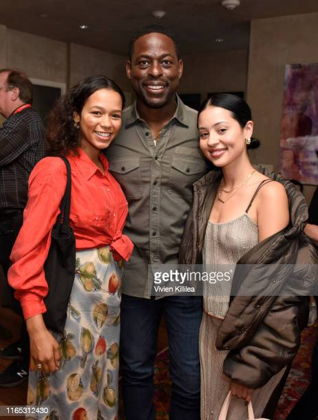 Taylor Russell Sterling K Brown and Alexa Demie attend the Telluride Film Festival 2019 on August 31 2019 in Telluride Colorado