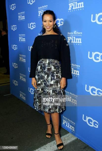 Taylor Russellattends the Virtuosos Award presentation during the 35th Santa Barbara International Film Festival at Arlington Theatre on January 18...
