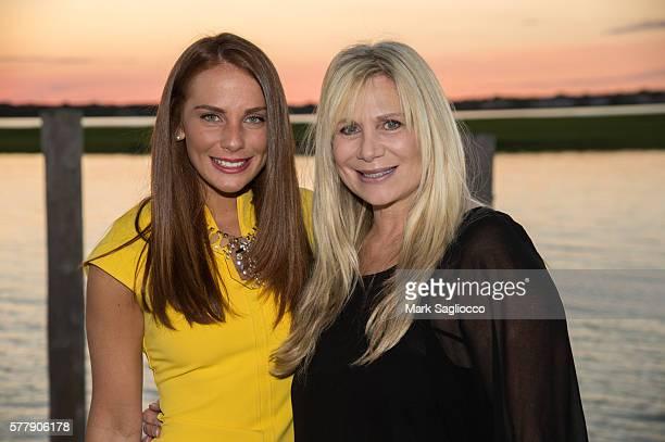 Taylor Schiffman and Suzanne Schiffman attend Hamptons Magazine's Debra Halpert Greenberg Cosmetic's Dr Stephen Greenberg Author of Menopause...