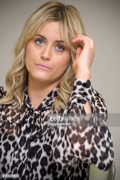 Taylor Schilling at the Orange Is the New Black Press Conference at the London Hotel on April 19 2017 in New York City