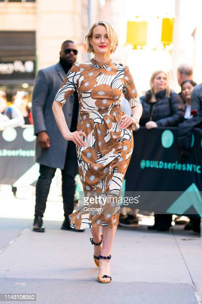 Taylor Schilling attends AOL Build in NoHo on April 16, 2019 in New York City.