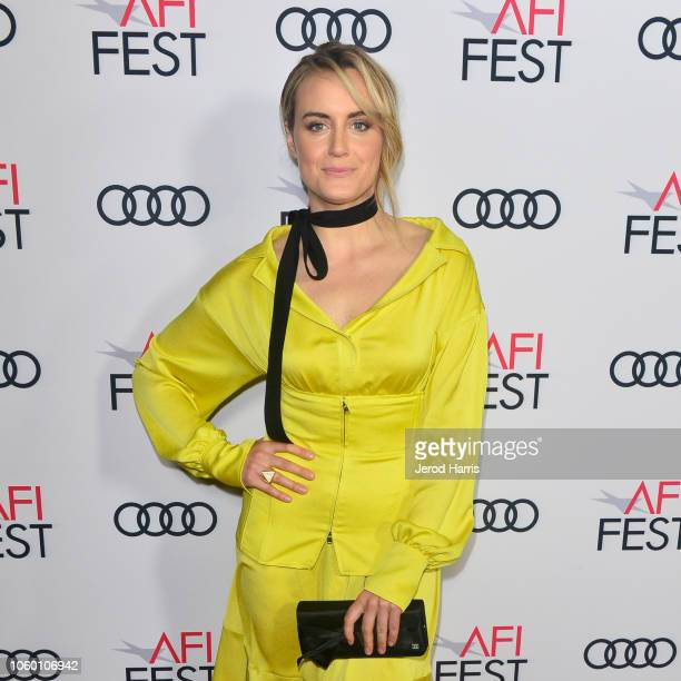Taylor Schilling attends Festival Filmmakers at AFI FEST 2018 Presented By Audi at TCL Chinese 6 Theatres on November 10 2018 in Hollywood California