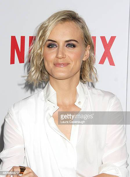 Taylor Schilling attends FYC Screening Of Orange Is The New Black at DGA Theater on August 11 2015 in New York City