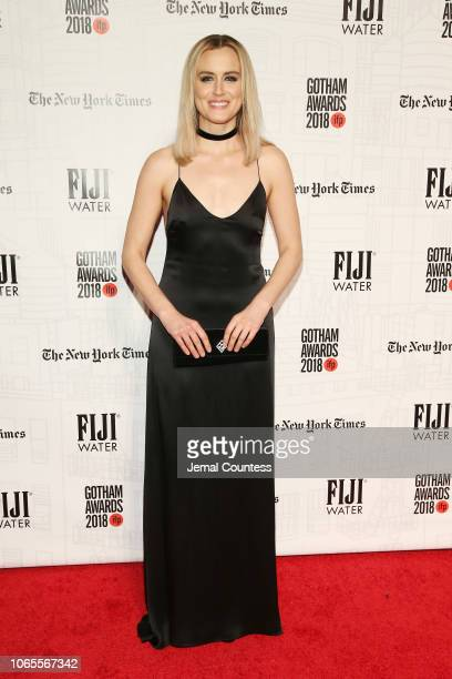 Taylor Schilling attends IFP's 28th Annual Gotham Independent Film Awards at Cipriani Wall Street on November 26 2018 in New York City