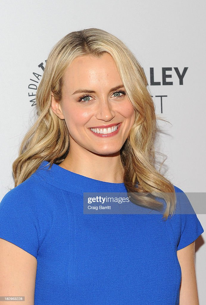Taylor Schilling attends 'Orange Is the New Black' during 2013 PaleyFest: Made In New York at The Paley Center for Media on October 2, 2013 in New York City.