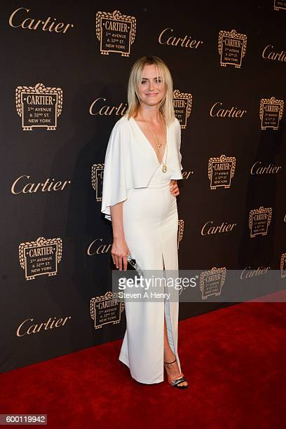 Taylor Schilling attends the Cartier Fifth Avenue Mansion Reopening Party at Cartier Mansion on September 7 2016 in New York City