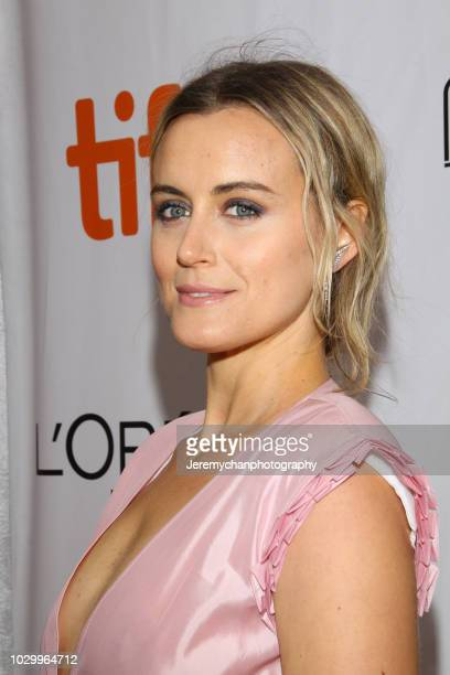 Taylor Schilling attends 'The Public' Premiere during 2018 Toronto International Film Festival at Roy Thomson Hall on September 9 2018 in Toronto...