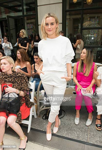 Taylor Schilling attends the Rachel Comey fashion show during New York Fashion Week September 2016 on September 7 2016 in New York City