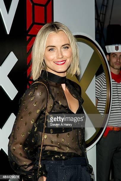 Taylor Schilling attends W Hotel Toasts the Upcoming Opening of W Amsterdam at Grand Banks on August 18 2015 in New York City