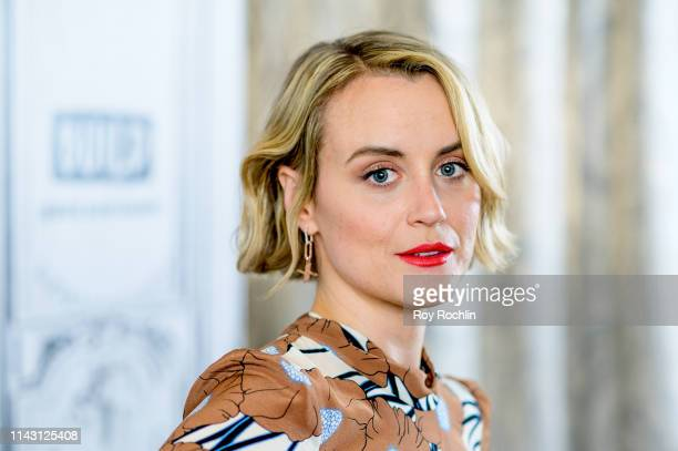 Taylor Schilling discusses Family with the Build Series at Build Studio on April 16 2019 in New York City