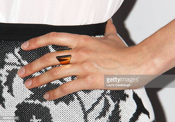 Taylor Schilling ring detail attends FYC Screening Of Orange Is The New Black at DGA Theater on August 11 2015 in New York City