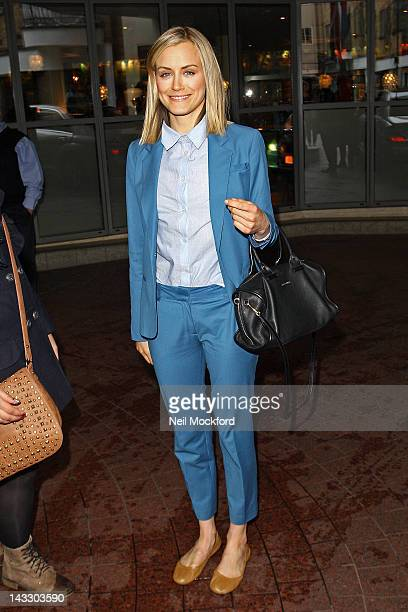 Taylor Schilling seen at The Soho Hotel on April 23 2012 in London England