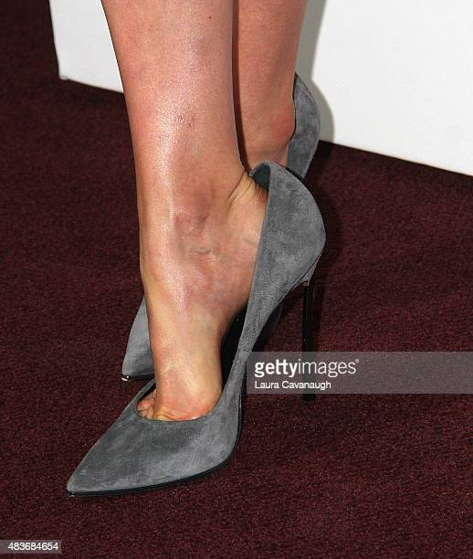 Taylor Schilling shoe detail attends FYC Screening Of Orange Is The New Black at DGA Theater on August 11 2015 in New York City