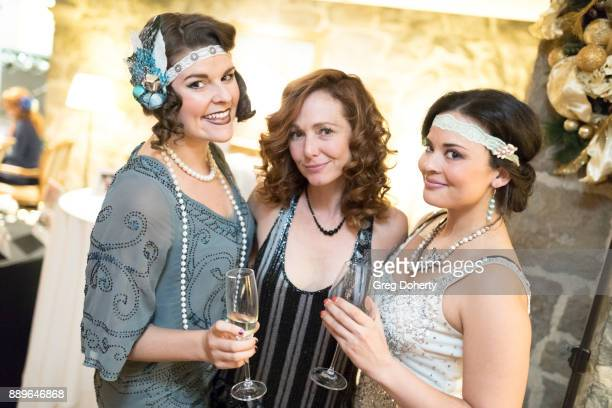 Taylor Seabaker Frankie Ingrassia and Chelsea Rivera attend The Thalians Hollywood for Mental Health Holiday Party 2017 at the Bel Air Country Club...