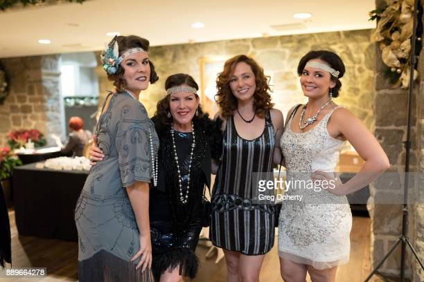 Taylor Seabaker Kira Reed Lorsch Frankie Ingrassia and Chelsea Rivera attend The Thalians Hollywood for Mental Health Holiday Party 2017 at the Bel...