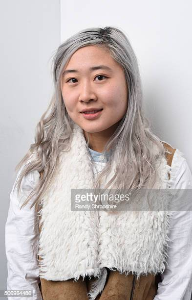 Taylor Shung from the film Jacqueline Argentine poses for a portrait during the WireImage Portrait Studio hosted by Eddie Bauer at Village at The...