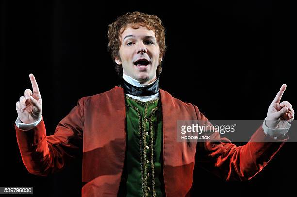 Taylor Stayton as Don Ramiro in Glyndebourne's production of Gioachino Rossini's La Cenerentola directed by Peter Hall and conducted by James...