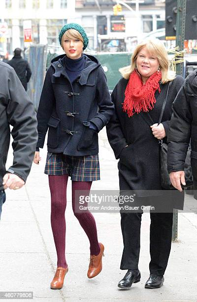 Taylor Swift and Andrea Finlay are seen on December 22 2014 in New York City