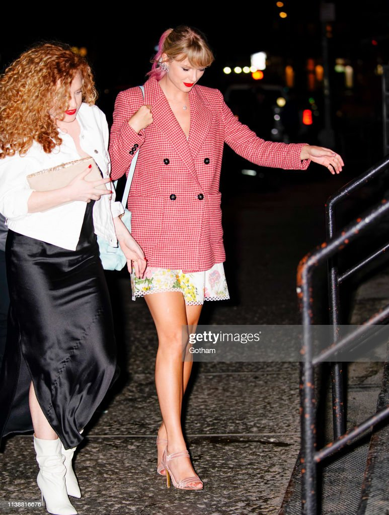 Celebrity Sightings In New York City - April 22, 2019 : News Photo