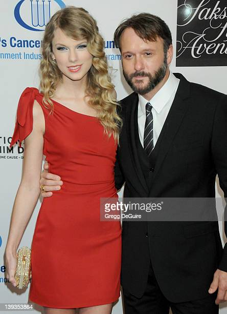 Taylor Swift and Tim McGraw arrive at The 13th Annual Unforgettable Evening Benefiting EIF's Women's Cancer Research Fund at the Beverly Wilshire...