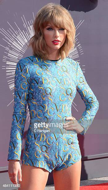 Taylor Swift arrives to the 2014 MTV Video Music Awards at The Forum on August 24 2014 in Inglewood California