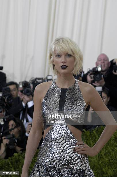 Taylor Swift at Metropolitan Museum of Art on May 2 2016 in New York City