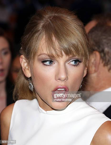 Taylor Swift attending the 2013 Tiff Film Festival Gala Red Carpet Premiere for One Chance at the Winter Garden Theatre on September 9 2013 in...