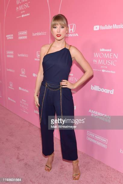 Taylor Swift attends Billboard Women In Music 2019, presented by YouTube Music, on December 12, 2019 in Los Angeles, California.