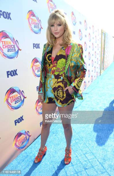 Taylor Swift attends FOX's Teen Choice Awards 2019 on August 11, 2019 in Hermosa Beach, California.