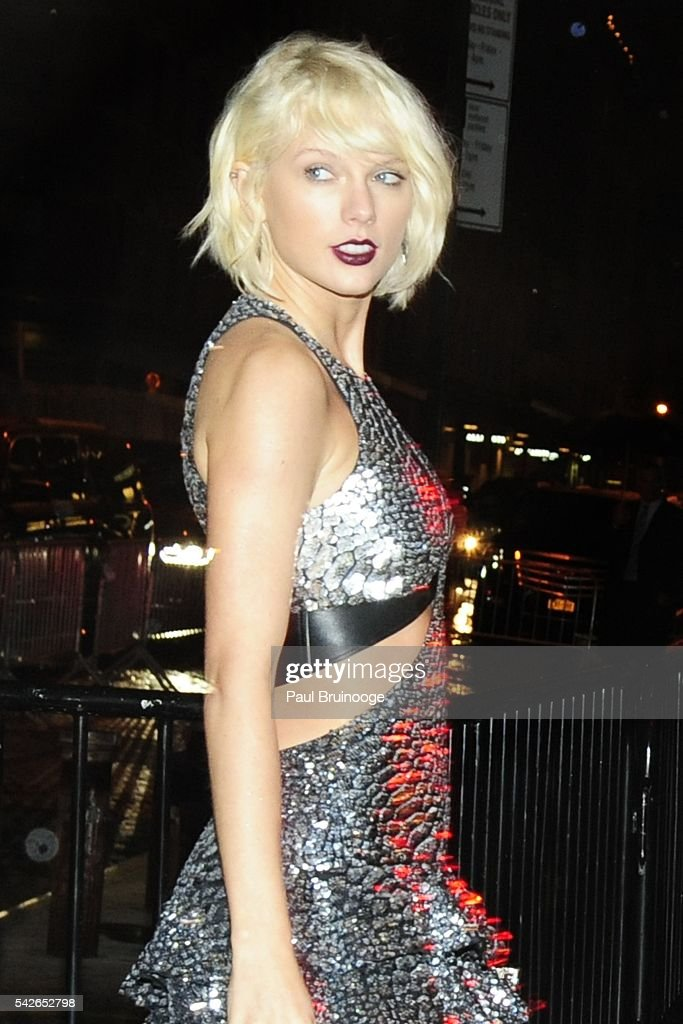Taylor Swift attends Met Ball After Party at The Standard on May 2, 2016 in New York City.