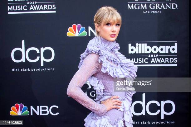 Taylor Swift attends the 2019 Billboard Music Award at MGM Grand Garden Arena on May 01, 2019 in Las Vegas, Nevada.