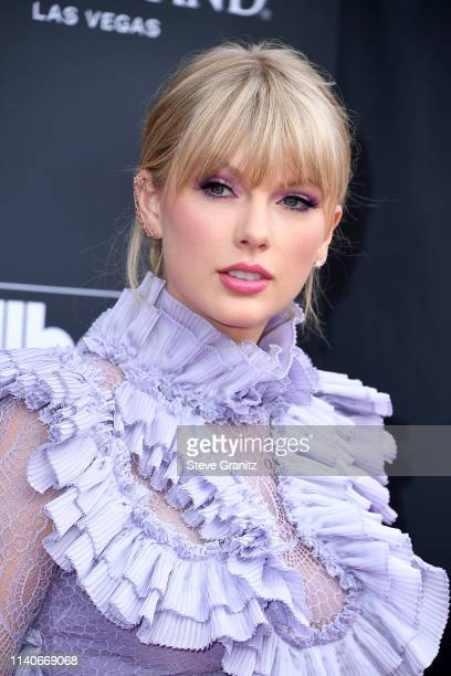Taylor Swift attends the 2019 Billboard Music Awards at MGM Grand Garden Arena on May 1 2019 in Las Vegas Nevada