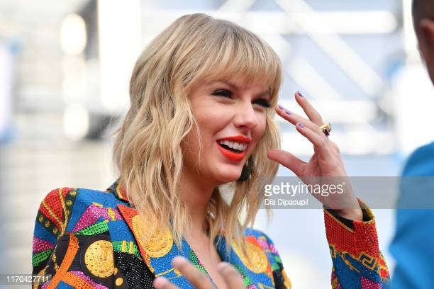 Taylor Swift attends the 2019 MTV Video Music Awards at Prudential Center on August 26 2019 in Newark New Jersey